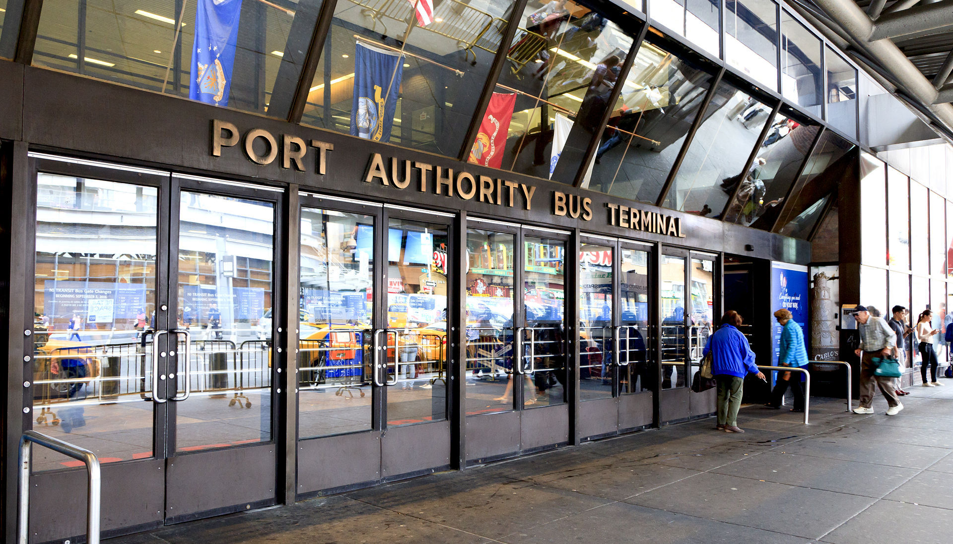 Port Authority of New York and New Jersey Bus Terminal